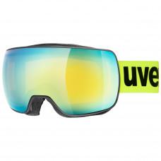lyžařské brýle UVEX  COMPACT FM, black mat dl/orange (2330) Množ. Uni