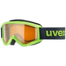 lyžařské brýle UVEX SPEEDY PRO, lightgreen sl/pc/gold (7030) Množ. Uni