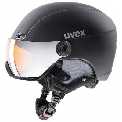 helma UVEX HLMT 400 VISOR STYLE, black mat (S566215200*)