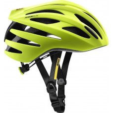 2021 MAVIC HELMA AKSIUM ELITE SAFETY YELLOW/BLACK (L40148700)