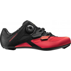 18 MAVIC SEQUENCE ELITE TRETRY PIRATE BLACK/FIERY CORAL 401559
