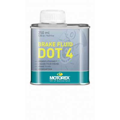 MOTOREX BRAKE FLUID DOT 4, 250 ML Množ. Uni