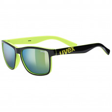 20 UVEX BRÝLE LGL 39, BLACK LIME/MIRROR YELLOW (2716) Množ. Uni