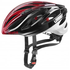 20 UVEX HELMA BOSS RACE, BLACK-RED