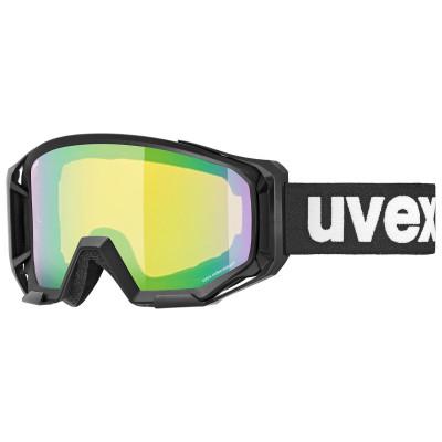2021 UVEX ATHLETIC CV, BLACK MAT, MIRROR GREEN (2130) Množ. Uni