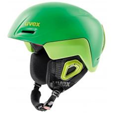 helma UVEX JIMM OCTO+, green-lemon mat (S566205320*)