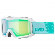 lyžařské brýle UVEX FLIZZ FM, white/green-rose (1030) Množ. Uni