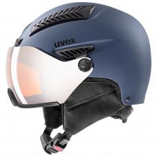 helma UVEX HLMT 600 visor, blue mat (S566236400*)