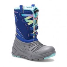 obuv merrell MK161268 SNOW QUEST LITE 2.0 WTPF grey/blue/turq