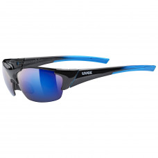 2021 UVEX BRÝLE BLAZE III, BLACK BLUE/MIRROR BLUE (2416) Množ. Uni
