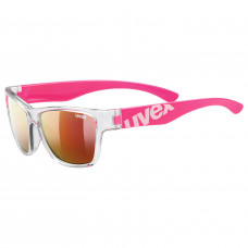 2021 UVEX BRÝLE SPORTSTYLE 508 CLEAR PINK/MIR. RED (9316) Množ. Uni