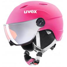 helma UVEX JUNIOR VISOR PRO, pink mat (S566191900*)