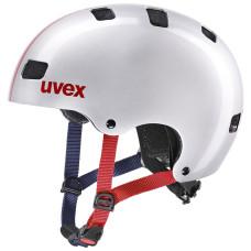 2021 UVEX HELMA KID 3, RACE SILVER