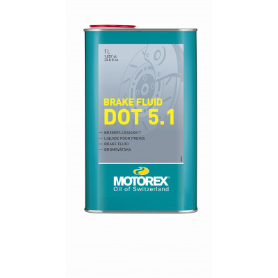 MOTOREX BRAKE FLUID DOT 5.1, 1L Množ. Uni