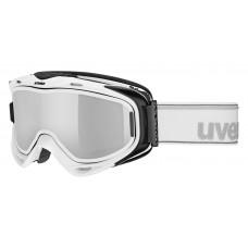 lyžařské brýle UVEX G.GL 300 TAKE OFF, white/litemirror silver (1026) Množ. Uni