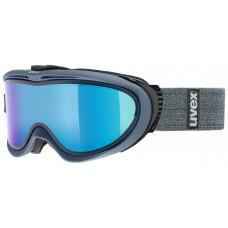 lyžařské brýle UVEX COMANCHE TAKE OFF, navy mat dl/mirror blue (4126) Množ. Uni