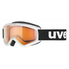 lyžařské brýle UVEX SPEEDY PRO, white/lasergold (1112) Množ. Uni